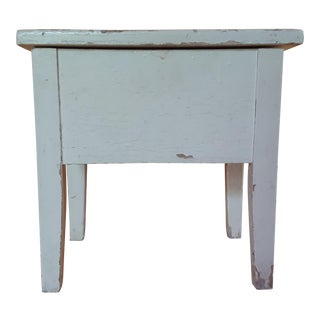 Shabby Chic Wooden Stool
