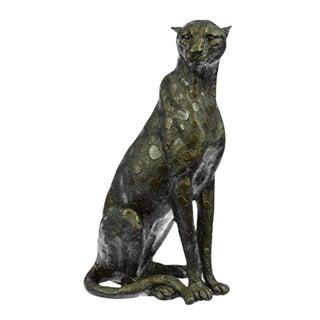 Bronze Cheetah Sculpture