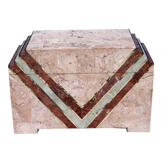 Tessellated Stone Box