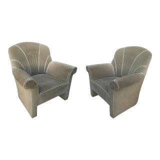 Josef Hoffman Haus Koller Club Chairs - A Pair