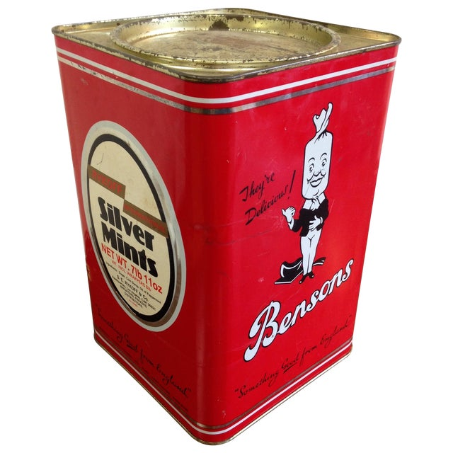 Vintage Bensons Candy Canister - Image 1 of 9