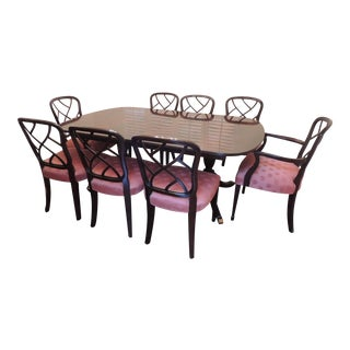 Baker Hepplewhite Dining Room Set