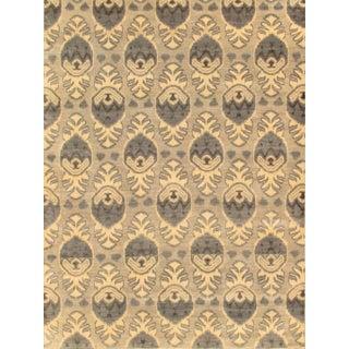 Pasargad Ikat Wool Rug - 8′11″ × 12′