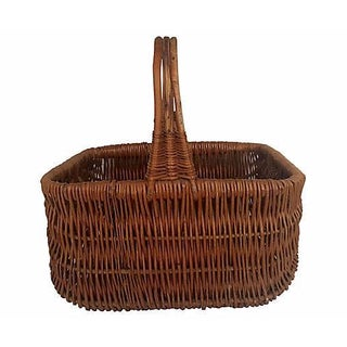 Antique French Market Basket