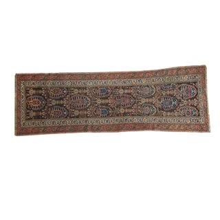 "Antique Northwest Persian Rug Runner - 2'9"" x 7'5"""