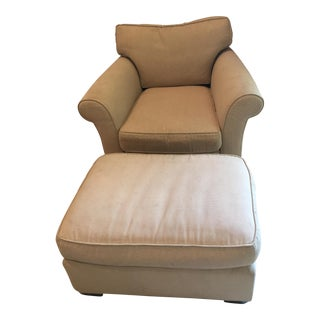 Mike Furniture Chair & Ottoman