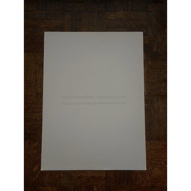 Mid-Century Folio Size Marino Marini Ltd Ed Print - Image 2 of 6