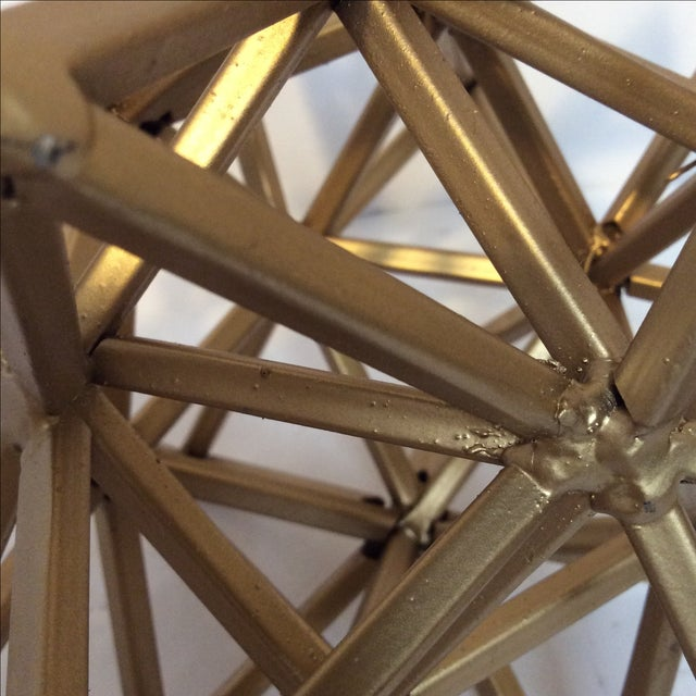 Geometric Gold Star - Image 7 of 7