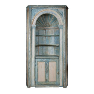 Antique French Corner Cabinet
