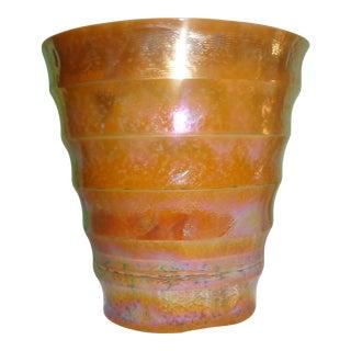 Italian Murano Glass Wine Cooler or Vase