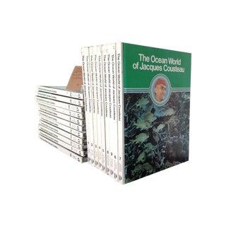 Vintage Jacques Cousteau Volume Books - Set of 20