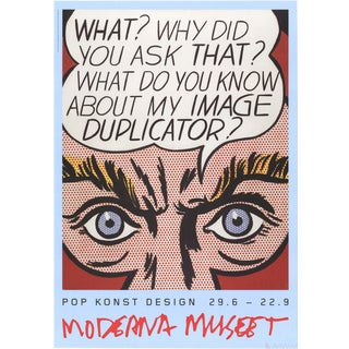 Roy Lichtenstein, Image Duplicator, 2013 Poster