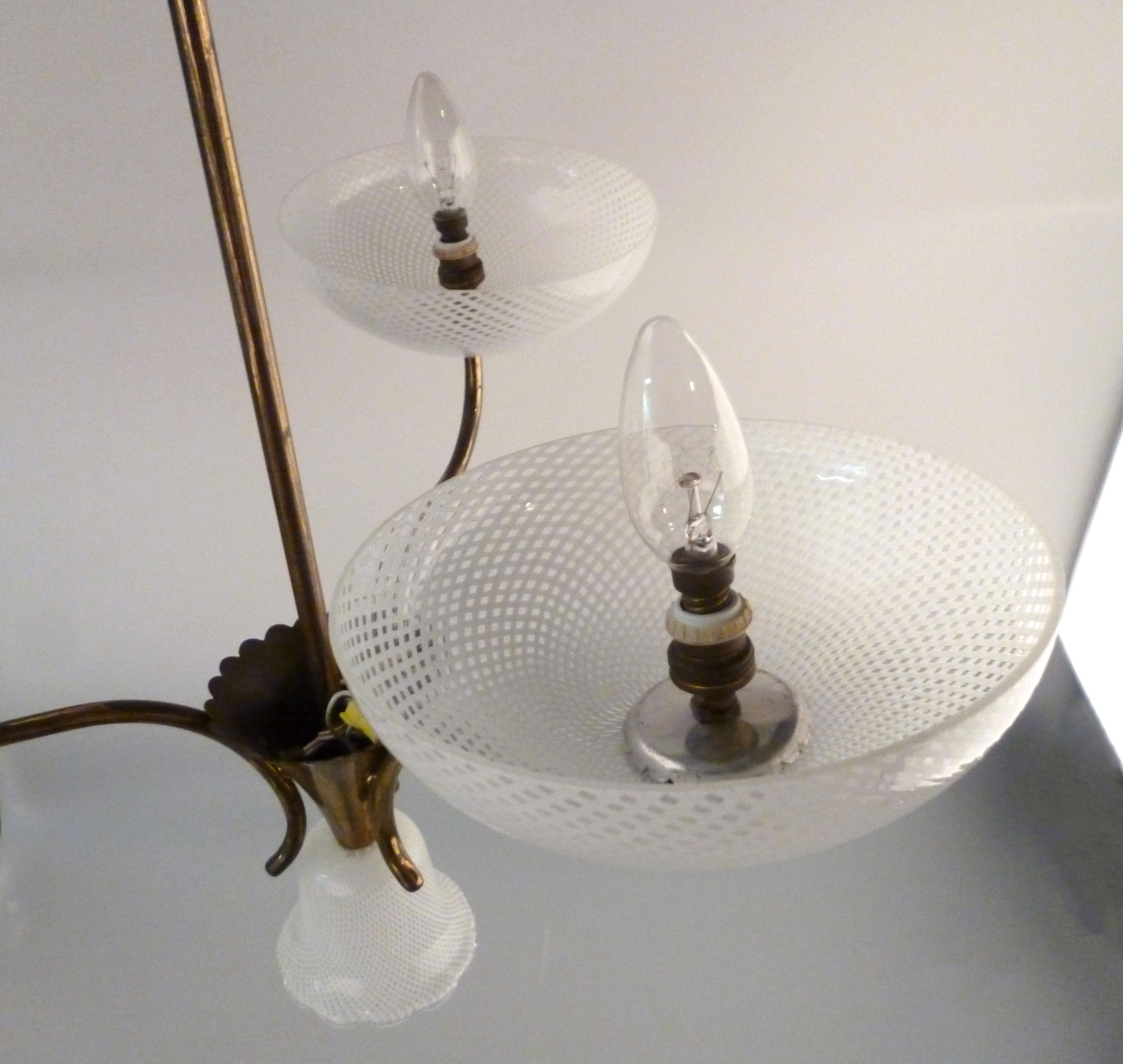 Seguso Filigreed Three Arm Chandelier Chairish : seguso filigreed three arm chandelier 2103aspectfitampwidth640ampheight640 from www.chairish.com size 640 x 640 jpeg 42kB