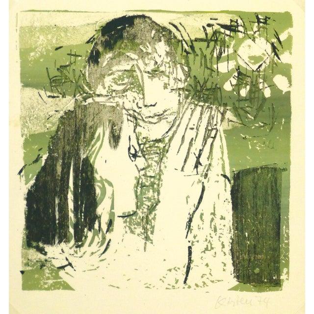 Vintage Fine Art Signed, 1974 - Image 1 of 4