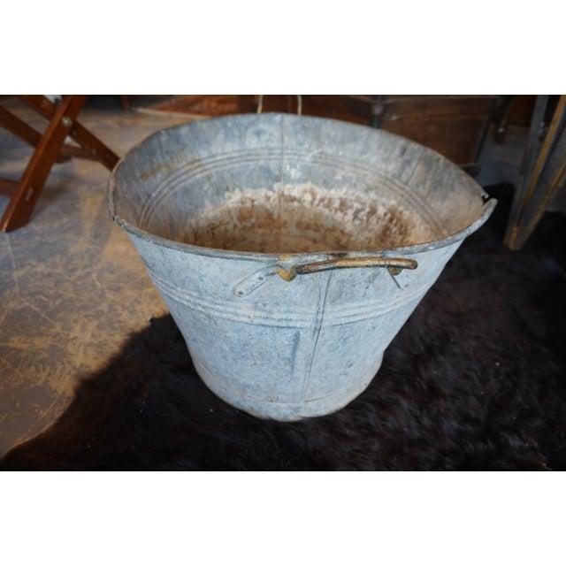 Image of Rustic Metal Bin