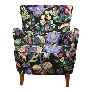 Josef Frank Upholstered Carl Malmsten Style Chair