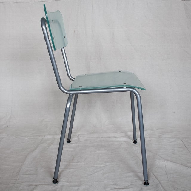 Tim Power for Zeritalia Glass Chip Chairs - A Pair - Image 6 of 10