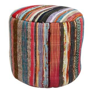 Vintage Sari Rug Stool