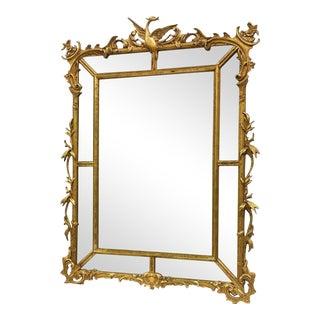 Phoenix Carved Italian Gilt Mirror