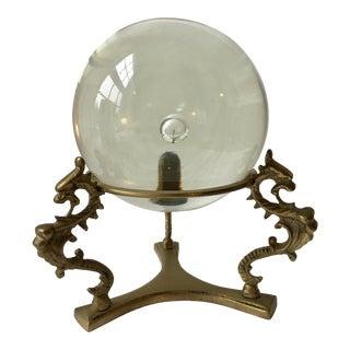 Hollywood Regency Crystal Ball