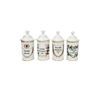 French Apothecary Jars - Set of 5