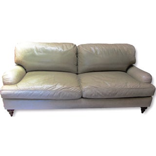 A. Rudin Leather Sofa