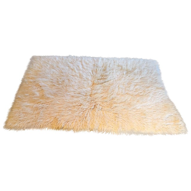"Image of Flokati Wool Shag Rug - 7'1"" X 4'10"""