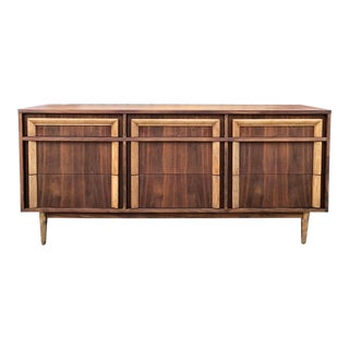 Mid-Century Nine Drawer Dresser by Basic Witz