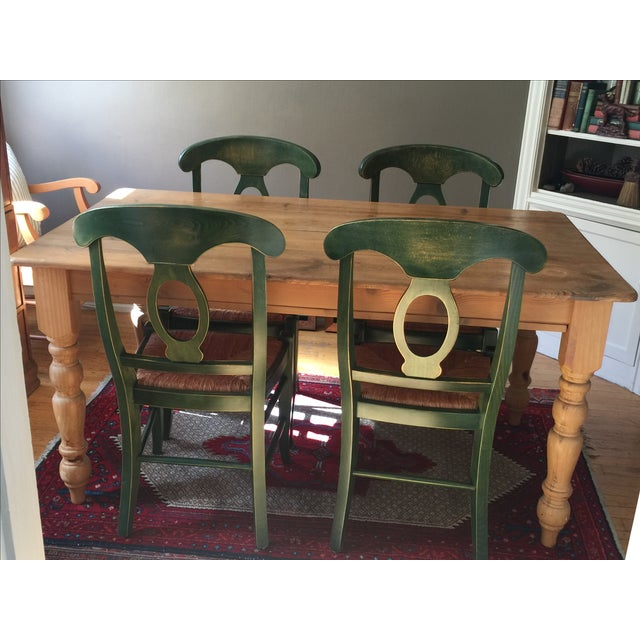 Pottery Barn Dining Table - Image 8 of 10