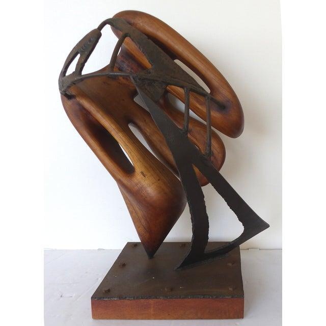 Michael Moser Vintage 1990 Modernist Sculpture - Image 4 of 11