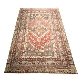 "Bellwether Rugs Vintage Turkish Oushak Rug - 4'1""x5'8"""