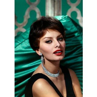 1959 Wallace Seawell Sophia Loren Canvas Portrait Photo