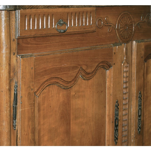 1880's French Buffet with Carving Details - Image 3 of 4