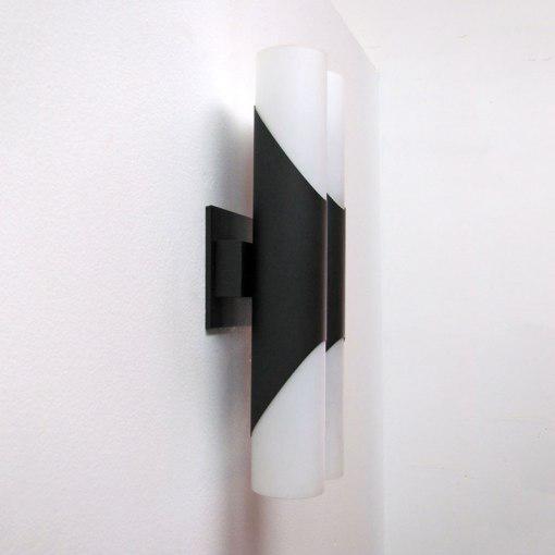 Pair of German Double Wall Lights by Neuhaus Leuchten - Image 4 of 10