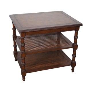 Ethan Allen Brent Regency Side Table