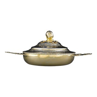 Louis XV Gilt Tureen by Jacques Bouchot