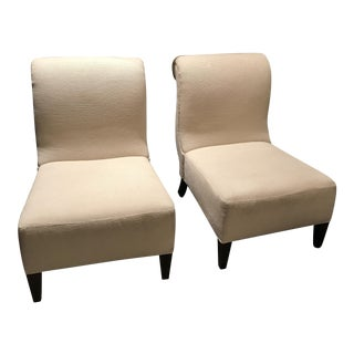 Barbara Barry for Baker Furniture Slipper Chairs - A Pair
