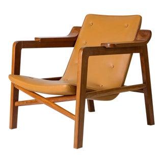 "Tove & Edvard Kindt Larsen ""Fireplace"" Chair"