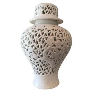 Small Blanc De Chine Vase