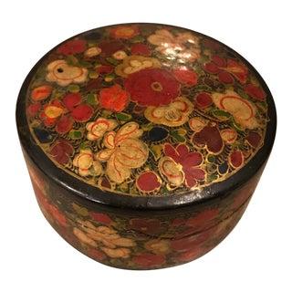Indian Decorative Paper Maché Box