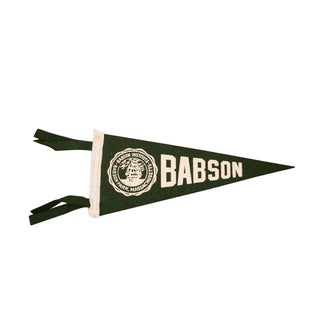 Massachusetts Babson Institute Felt Flag