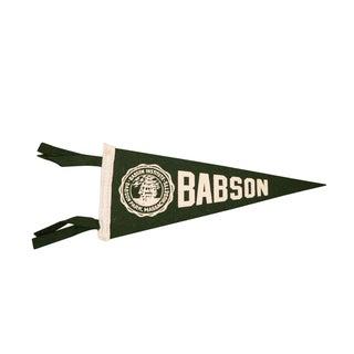 Massachusetts Babson Institute Felt Flag