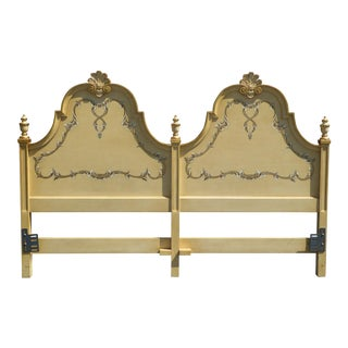 Kindel Vintage French Country King Headboard