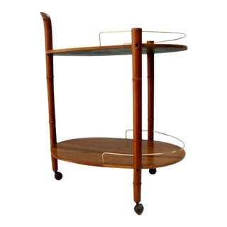 Mid-Century Mexican Modernist Service Cart