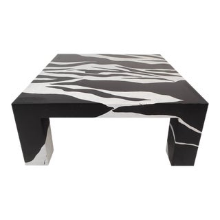 Contemporary Modern Square Coffee Table by Jonathan Adler