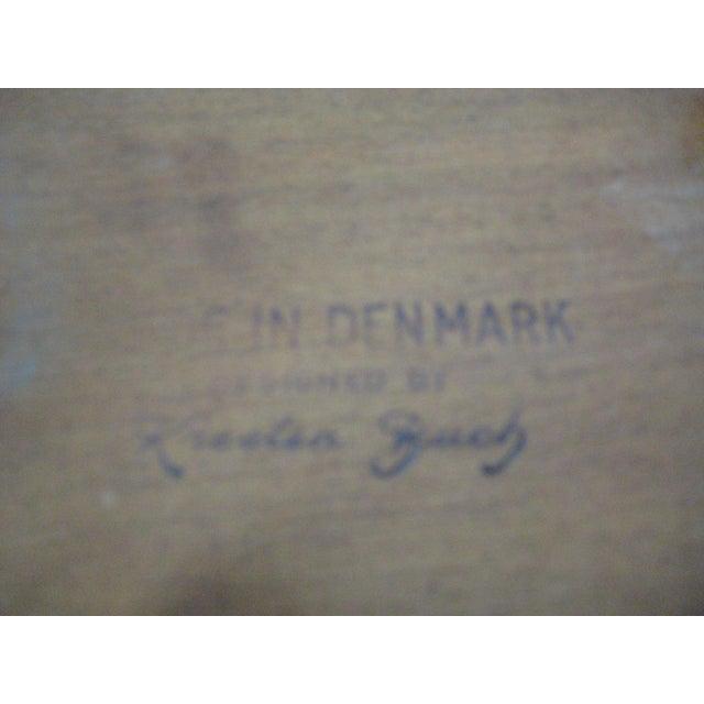 Kresten Buch Danish Modern Guitar Pick Side Table - Image 7 of 7