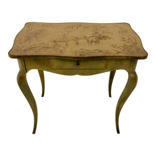 Baker Furniture Chinoiserie Side Table