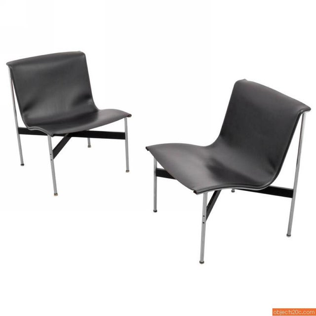 Pair Of William Katavolos, Ross Littell & Douglas Kelley, New York Lounge Chairs - Image 2 of 7