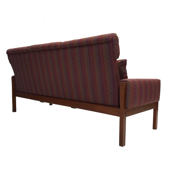 Hans Wegner for A.P. Stolen High Back Teak Frame Sofa - Image 3 of 6