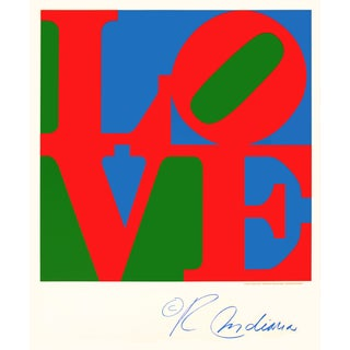 Love Poster by Robert Indiana